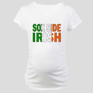 Sox Side Irish Maternity T-Shirt