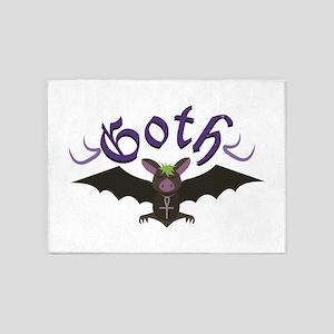 Goth 5'x7'Area Rug