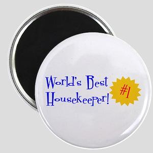 World's Best Housekeeper Magnet