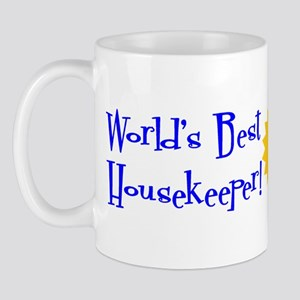 World's Best Housekeeper Mug
