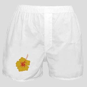 Hibiscus Boxer Shorts