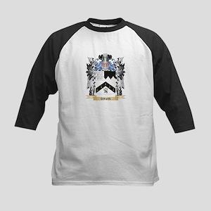 Davis Coat of Arms - Family Crest Baseball Jersey