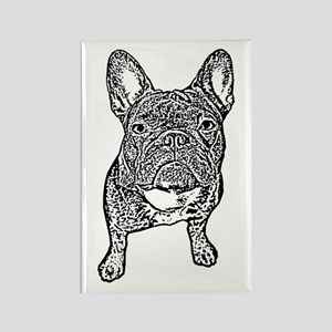 BIG FRENCHIE SKETCH Rectangle Magnet