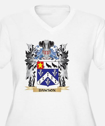 Dawson Coat of Arms - Family Cre Plus Size T-Shirt