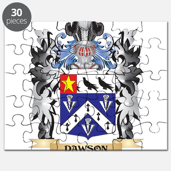 Dawson Coat of Arms - Family Crest Puzzle