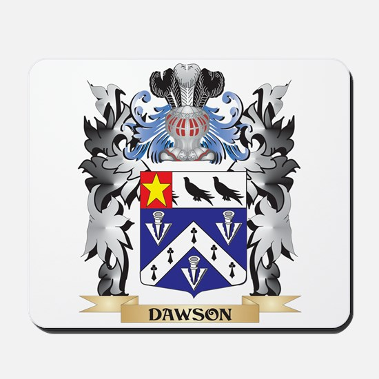 Dawson Coat of Arms - Family Crest Mousepad