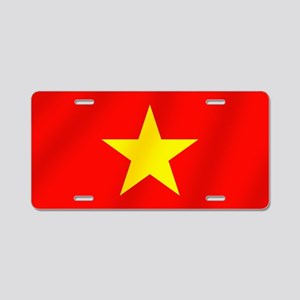 Flag of Vietnam Aluminum License Plate