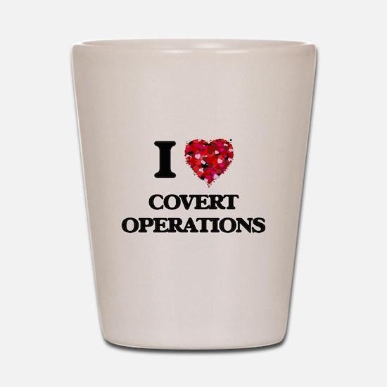 I love Covert Operations Shot Glass