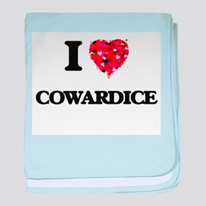 I love Cowardice baby blanket