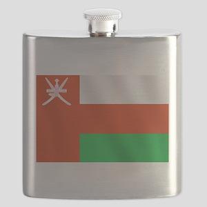 Flag of Oman Flask