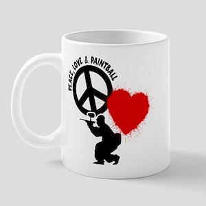 P,L,PAINTBALL Mug