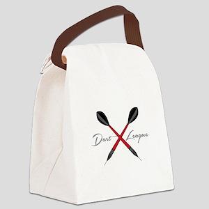 Dart League Canvas Lunch Bag