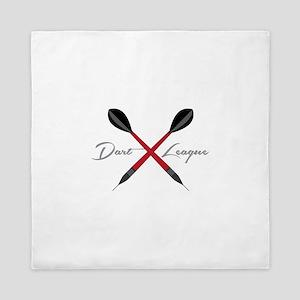 Dart League Queen Duvet