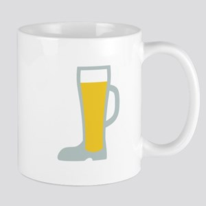 Boot Beer Glass Mugs