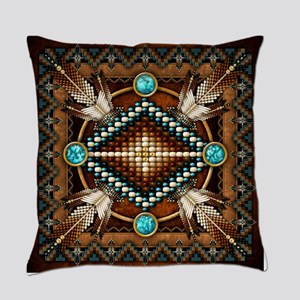 Native American Style Tapestry 1 Everyday Pillow