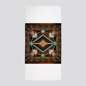 Native American Style Tapestry 1 Beach Towel