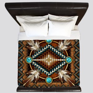 Native American Style Tapestry 1 King Duvet