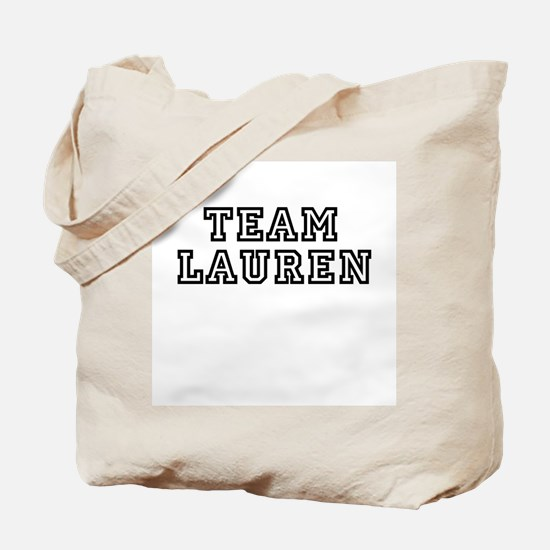 TEAM LAUREN Tote Bag