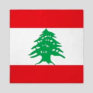 Flag of Lebanon Queen Duvet