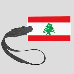 Flag of Lebanon Luggage Tag