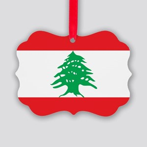 Flag of Lebanon Ornament