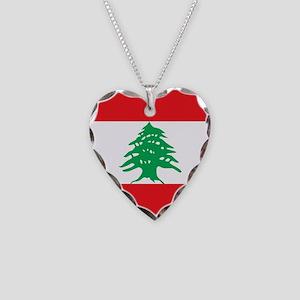 Flag of Lebanon Necklace