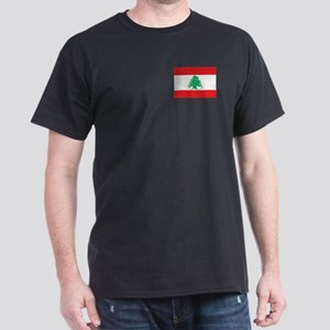 Flag of Lebanon Dark T-Shirt
