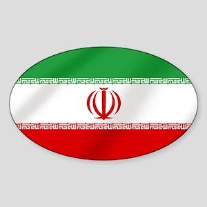 Flag of Iran Sticker (Oval)