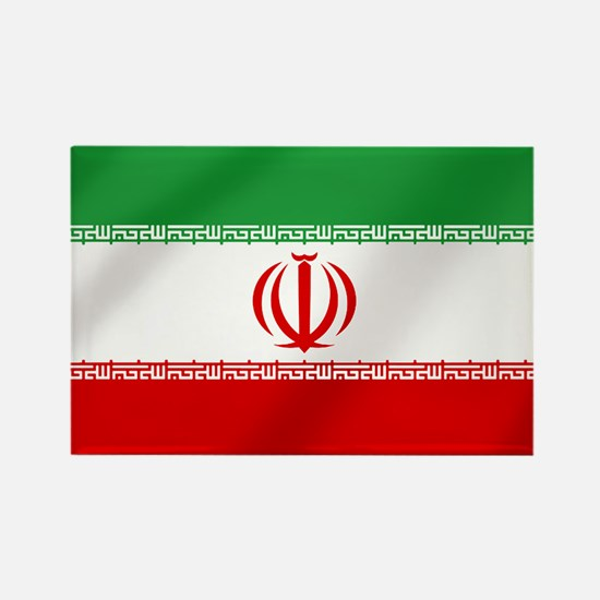 Flag of Iran Rectangle Magnet