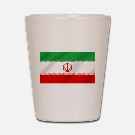 Flag of Iran Shot Glass