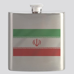 Flag of Iran Flask