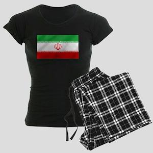 Flag of Iran Women's Dark Pajamas
