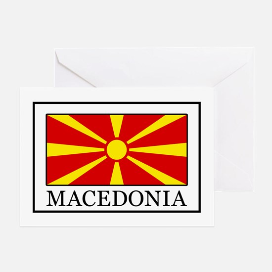 Macedonia Greeting Card