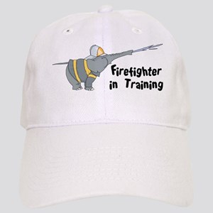 Firefighter in Training Cap