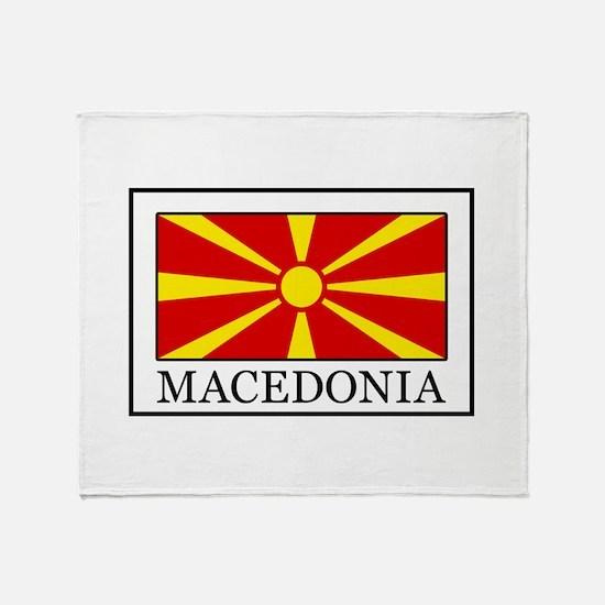Macedonia Throw Blanket
