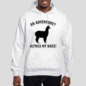 Alpaca My Bags Hooded Sweatshirt