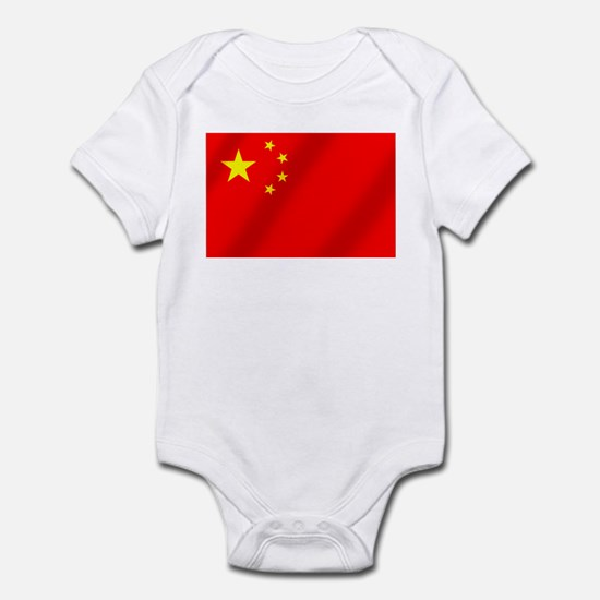 Flag of China Infant Bodysuit