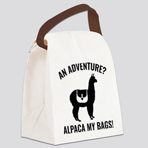 Alpaca My Bags Canvas Lunch Bag