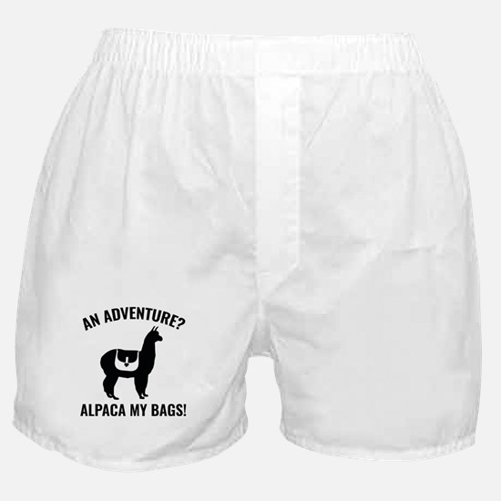 Alpaca My Bags Boxer Shorts