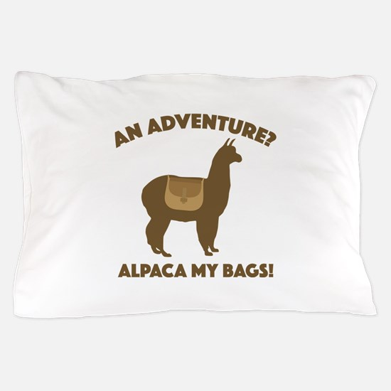 Alpaca My Bags Pillow Case