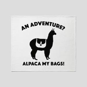 Alpaca My Bags Stadium Blanket