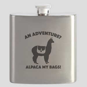 Alpaca My Bags Flask