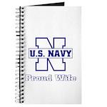 Navy Proud Wife Journal