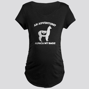Alpaca My Bags Maternity Dark T-Shirt