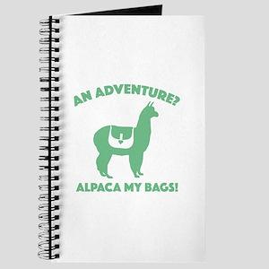 Alpaca My Bags Journal