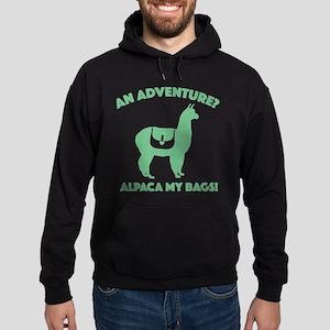 Alpaca My Bags Hoodie (dark)