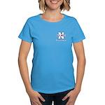 Navy Proud Wife Women's Dark T-Shirt