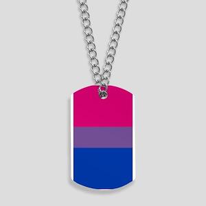 Bisexual Pride Flag Dog Tags
