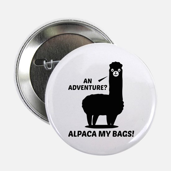 "Alpaca My Bags 2.25"" Button"