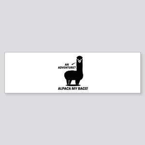 Alpaca My Bags Sticker (Bumper)